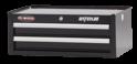"Shop Series 26"" Wide 2-Drawer Intermediate Chest - Black"
