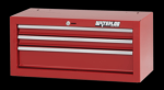 """Shop Series 26"""" Wide 3-Drawer Intermediate Chest - Red"""