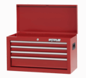 """Shop Series 26"""" Wide 4-Drawer Chest - Red"""