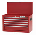 """Shop Series 26"""" Wide 7-Drawer Chest - Red"""