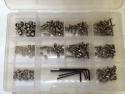 Radio Control Car Fastener Assortment Kit Stainless Steel (Metric)