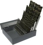 #1-#60 HSS 60 Piece Left Hand Jobber Length Drill Bit Set, Qualtech