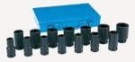 8038D 3//4 Drive 14-Piece Deep Socket Set Grey Pneumatic