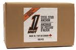 1Shot™ Steel Stud Anchor - 500 Count