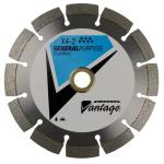 "7"" X .125"" X 7/8""-5/8"" Diamond Vantage Walk Behind Saw Blade: X4-2"