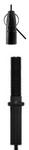 """Black - Angel Y-Toggle 300mm (12"""") Hanger"""