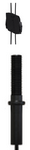 "Black - Express  / 1/4"" Stud End Fixing (SQG)"