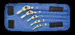 "Bondhus 00017 Set 8 Chrome Hex Pro Wrenches 1/8-3/8"""
