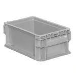 "Buckhorn® Light Grey 12""L x 7""W x 5""H Straight Wall Container"