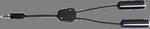 David Clark 18253G-06 Cord Assembly Adapter