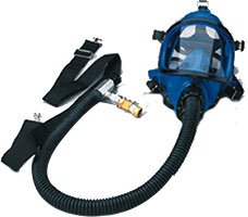 Dentec Safety Series 121 Full Silicone Facepiece Supplied Air Respirator Assembly w/ Inner Mask