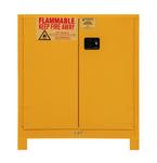 "Durham MFG® Manual 30 Gallon 43"" x 18"" x 50"" Flammable Storage Cabinet"