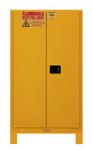 "Durham MFG® Manual 60 Gallon 34"" x 34"" x 71"" Flammable Storage Cabinet"