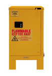 "Durham MFG® Self Closing 12 Gallon 23"" x 18"" x 42-3/8"" Flammable Storage Cabinet"