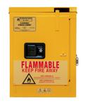 "Durham MFG® Self Closing 4 Gallon 17-3/8"" x 18-1/8"" x 23-3/8"" Flammable Storage Cabinet"