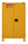 "Durham MFG® Self Closing 90 Gallon 43"" x 34"" x 72-3/8"" Flammable Storage Cabinet"