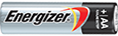 Energizer® 24 Pack - Max® Alkaline AA Batteries