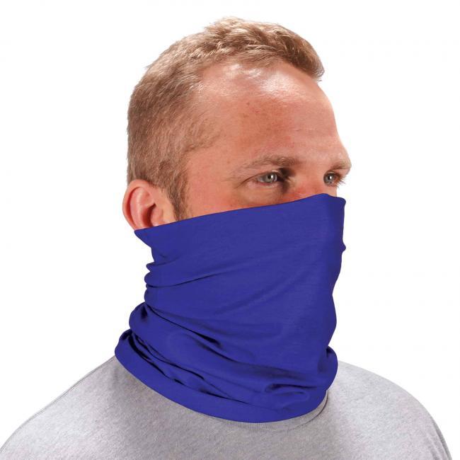 Ergodyne Chill-Its® Blue Multi-Use Face Mask