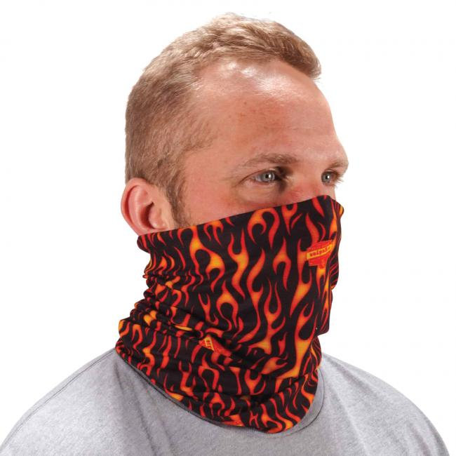 Ergodyne Chill-Its® Flames Multi-Use Face Mask