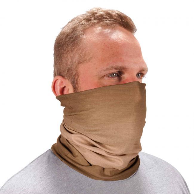 Ergodyne Chill-Its® Khaki FR Multi-Use Face Mask