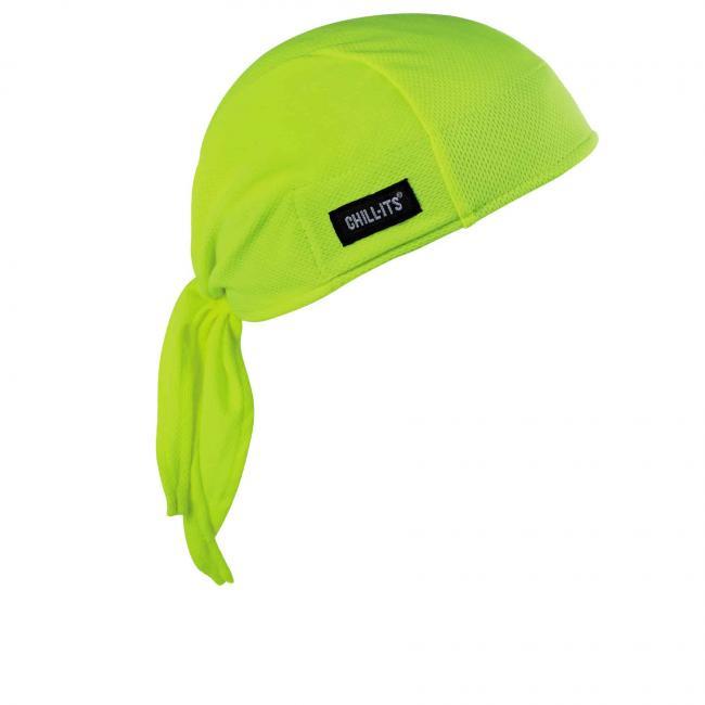 Ergodyne® Chill-Its® Lime High-Performance Do Rag