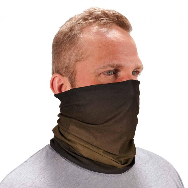 Ergodyne Chill-Its® Olive Drab Fade Multi-Use Face Mask