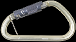 Gemtor 5742 Aluminum, side opening large carabiner with triple locking gate