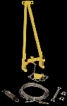 Gemtor HL3-3A Portable Horizontal Lifeline Add-on System for up to 30 ft. span