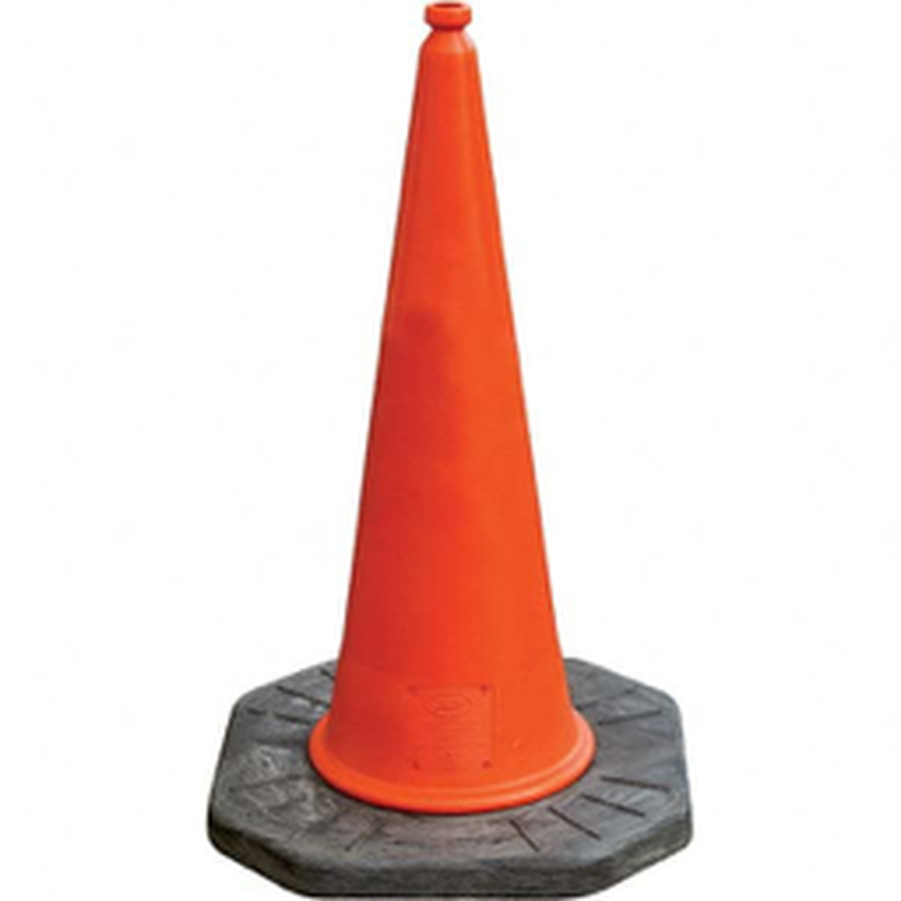 """39"""" Dominator™ Traffic Cone - Two Piece - Moulded Cone"""