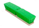 "Magnolia Brush 18"" Green Flagged Nylon Floor Style Wash Brush"