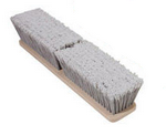 """Magnolia Brush 24"""" Grey Flagged Nylon Floor Style Wash Brush"""