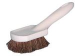 "Magnolia Brush 8-1/2"" Plastic Block Horsehair Long Handle Fender Brush"