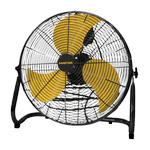 "Master 36"" Tiltable Belt Drive Floor Fan"