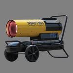 Master Diesel/Kerosene 220,000 BTU SilentDrive Forced Air Torpedo Heater
