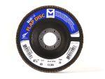 "Mercer 5"" x 7/8"" Type 29 Flap Disc- High Density: Grit/WT 80"