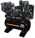 Mi-T-M 30 Gallon Two Stage Gasoline Combination Air Compressor Generator - Kohler Engine