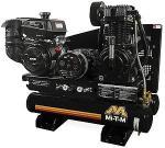 "Mi-T-M 8 Gallon Two Stage Gasoline Combination Air Compressor Generator - 44"" x 22"" x 34"" Kohler Engine"