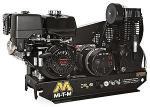 Mi-T-M Base-Mount Two Stage Gasoline Combination Air Compressor Generator - Mi-T-M Engine