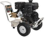 Mi-T-M CA Aluminum Series 4000 PSI Cold Water Gasoline Direct Drive Pressure Washer - Kohler Engine