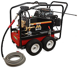 Mi-T-M CWC Premium Series 5000 PSI Cold Water Gasoline Belt Drive Pressure Washer
