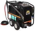 Mi-T-M HSE Series 3500 PSI Hot Water Electric Belt Drive Pressure Washer - NEMA L15-30P