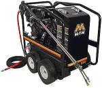 Mi-T-M HSP Series 3500 PSI Hot Water Gasoline Direct Drive Pressure Washer