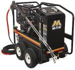 Mi-T-M HSP Series 3500 PSI Hot Water Gasoline Direct Drive Pressure Washer - Kohler Engine