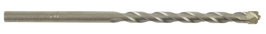 """Mutual Screw & Supply 1/4"""" x 6"""" V-Groove Tile Drill Bit"""