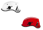 PIP R6C Dominator™ Non-Vented ESS Goggle Mounts & Retractable Eye Protector Rescue Helmet