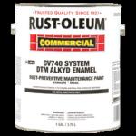 Rust-Oleum® DTM Alkyd Enamel Rust Preventative Paint GLOSS WHITE (Gallon)