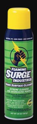 Surge Industrial 20oz. Hard Surface Cleaner Foaming Spray - 12 Bottles