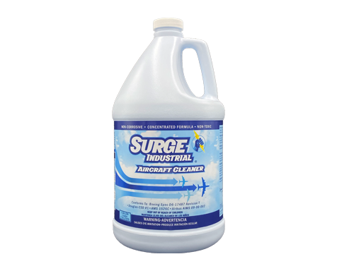 Surge Industrial Aircraft Cleaner Concentrate - 4 Gallons