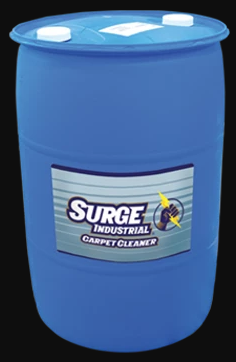 Surge Industrial Commercial Carpet Cleaner Concentrate - 55 Gallon Drum