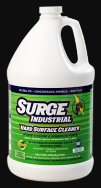 Surge Industrial Commercial Hard Surface Cleaner Concentrate - 4 Gallons
